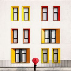 Istanbul's Colourful Minimalist Architecture by Yener Torun #inspiration #photography