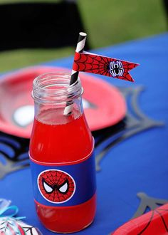 Spiderman Birthday Party Ideas | Photo 1 of 34 | Catch My Party