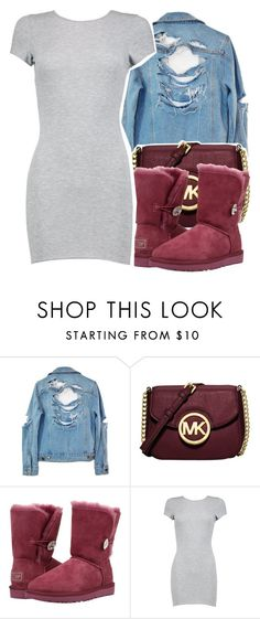 """""""😎 ."""" by clinne345 ❤ liked on Polyvore featuring High Heels Suicide, Michael Kors, UGG and Boohoo"""