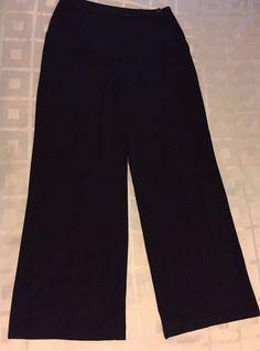 Express Women Black Career Dress Stretch Pants Size 7 / 8 #Express #DressPants