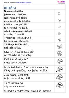 40 básniček s malováním za poloviční ceny Preschool Worksheets, 4 Kids, Kindergarten, Poems, Crafts For Kids, Writing, Education, Fun, Blog