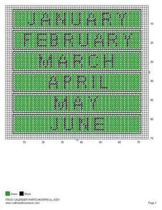 Frog calendar 2/5