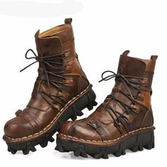 Handmade Leather Boots (upgraded Design)
