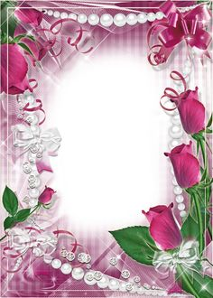 Photo-Frame-Roses-and-Pearls.png (914×1280)