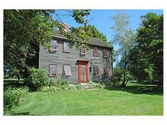 """1701 Saltbox  Essex, MA  Rev. John Wise home...Protestant against taxation and the """"witchcraft""""  nonsense.  Son of a laborer, graduate of Harvard."""