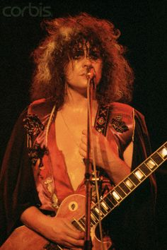 Marc Bolan - Everybody talks about the return to the two minute song. I believe Bolan was the first to jump on it before everybody. Influenced Bowie, The Dolls, you name it. Just an amazing, simple guitar style that everyone from Thunders to Page took notice & utilized. With that choppy, power-chord style, he was practically a one man band. Great rhythmic approach and stage presence up the ying-yang. He was the bridge between the hippie generation to the glam explosion to the punk movement…