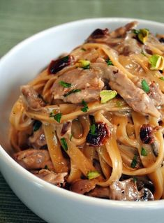 15 dinner recipes that prove duck is the new chicken, like Tea-Smoked Duck Fettuccine.