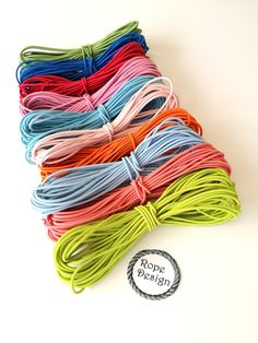 Elastic cord, Round elastic 2 mm cord, Sewing supplies, Elastic drawcord, Round stretch cord, DIY face mask