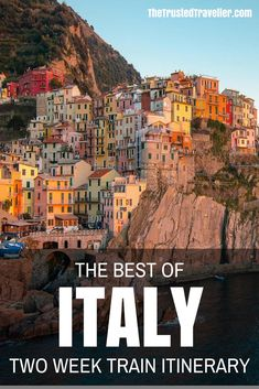 The Best of Italy by Train: A Two Week Itinerary - The Trusted TravellerYou can find Italy vacation and more on our website.The Best of Italy. Cool Places To Visit, Places To Travel, Travel Destinations, Travel Tours, Nightlife Travel, Travel Hacks, Holiday Destinations, Travel Guides, Vacation Places