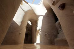 Stunning Hand-Carved Cave Cathedrals by Ra Paulette
