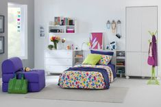 acessorios coloridos cores decoracao quarto menina