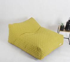 floor cushion, pouf, floor pillow , pink bean bag, pink pouf ...