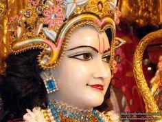 Sri Rama Close up Wallpaper {Bhaktivedanta Manor}