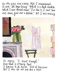wonderful artist. beautiful words.