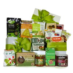 Vegan Healthy Gift Basket | Vegan Baskets | Pinterest | Vegans ...
