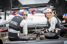 Skiing superstar joins America's Cup on foils with Oracle Team USA #skiseason