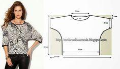 pratik bluz kalıbı kolay dikiş sewing