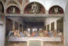 Das letzte Abendmahl ist eines der bekanntesten Gemälde überhaupt. Das berühmte Bild von Leonardo Da Vinci verdeutlicht die Wechselwirkung zwischen Kunst und Religion.