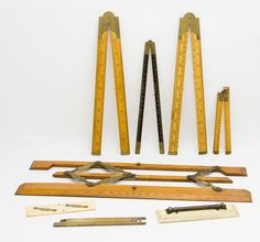 Vintage measuring tools