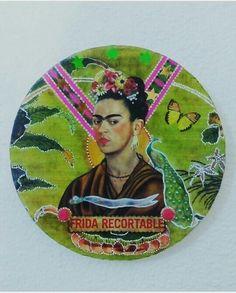 """Cuadro """"Frida recortable"""".               (GloriArte143) Collage."""