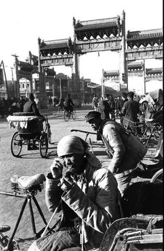 © Henri Cartier-Bresson/Magnum Photos Beijing. December 1948.