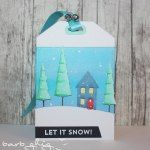 Stamping with Loll: Twelve Tags of Christmas - Day Eleven Let It Snow, Let It Be, Card Tags, Gift Cards, Christmas Crafts, Christmas Ornaments, Fun Challenges, Tim Holtz, Diy Crafts