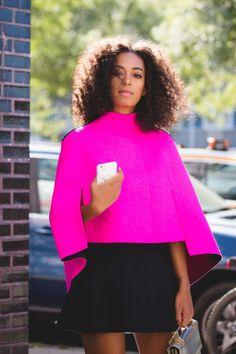 Solange - Fashion Week Milly 2015. women's fashion and style. solange = fashion