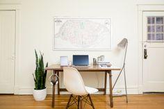 The Artifox - Solid Walnut Desk
