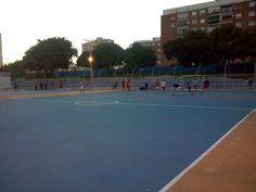 pista futbol-sala en el parque del oeste