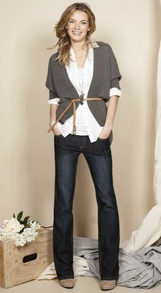 Perfect skinny belt   Belted sweater   Denim   Fashion tips   Style   Outfit inspiration   Perfect look   Casual