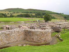 Northumberland, Chesterholm, A part of the Vindolanda Roman Garrison ...