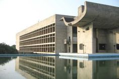 "From ""Le Corbusier Buildings Given UNESCO World Heritage Status"" on… Le Corbusier Chandigarh, Villa Savoye, Concrete Light, Modern India, Streamline Moderne, Architecture Visualization, Brutalist, Site Design, New Art"