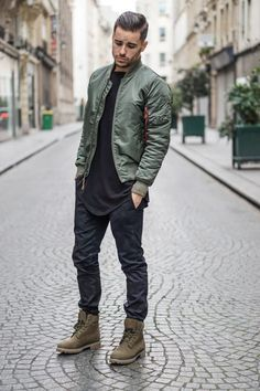 Men's Bomber Jackets Collection For This Fall 2018 Click image to see more.Best Men's Bomber Jackets Collection For This Fall 2018 Click image to see more. Mens Fashion 2018 Trends, Mens Fashion Suits, Jackets Fashion, Fashion Boots, Edgy Mens Fashion, Fashion Outfits, Fashion Hoodies, Dope Fashion, Fashion Fashion