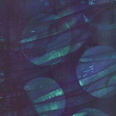 Island Batik Rayon - Midnight Galaxy