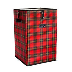 Found it at Wayfair - Remember the Tartans Plaid Collapsible Laundry Hamper or Trash Cache