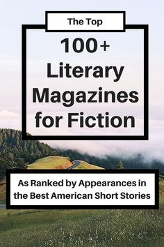 This list ranks literary magazines by how often their short stories have appeared in the Best American Short Stories.