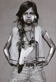 kids can be cool too.. vogue enfants