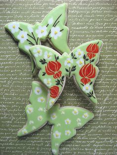 Butterfly Cookie Trio