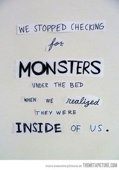 funny monsters under the bed quote on imgfave