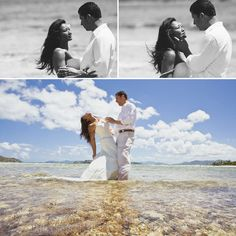Apparently I feel the need to torture myself by looking at destination weddings. Love St. Thomas for a destination wedding...