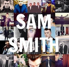 The man with the most amazing voice. Sam Smith