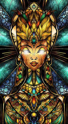 Nefertiti by Mandie Manzano ©