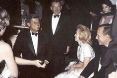 JFK and Angie Dickinson