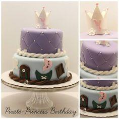 Pirate Princess Birthday Cake | Pixie Cakes
