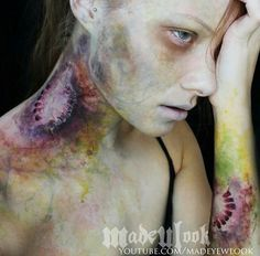 Zombie infection. All on Madeyewlook by lex. #Sfx #zombie #madeyewlook
