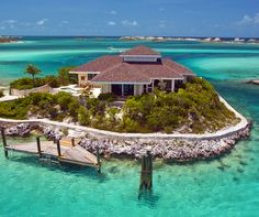 Birdcage Villa in Fowl Cay Resort in Exumas, Bahamas