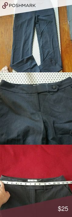 Calvin Klein Classic Fit Trousers Excellent condition and worn only once or twice. Great dress pants for work. These are a classic fit pant. No known flaws. Very professional looking. Measurements are shown in photos. Sorry for the wrinkles!  *See matching blazer and skirt in my closet. Calvin Klein Pants Trousers