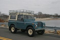 1971 Land Rover Series IIa 88 exterior: marine blue interior: grey IN LOVE!!!!!!!!!