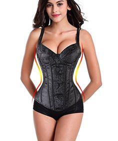 fad6246d297 Lelinta Women s Gothic Jacquard Shoulder Straps Tank Over... http   www