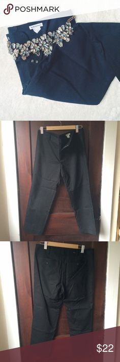 HP! Club Monaco | Black dress pants These cotton-blend slim pants are a workwear staple! In excellent condition--no holes, stains, or visible signs of wear. Happy to bundle or consider offers! Club Monaco Pants